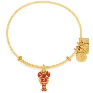 NEW Alex and Ani Lobster Charm Bangle